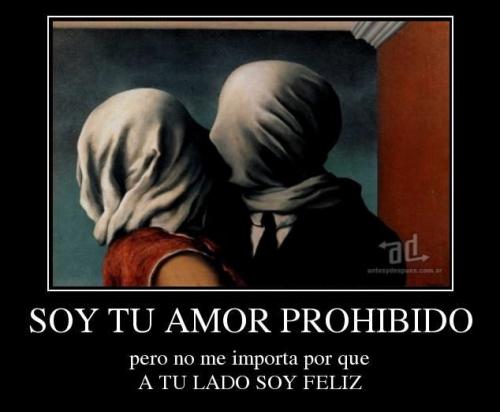 armatucoso soy tu amor prohibido 579007 Imágenes románticas de Amor Prohibido