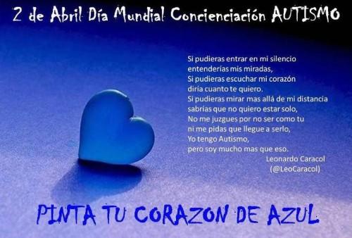 autismo 2 de abril e1364873985840 2 de Abril Día Mundial de Concientización del Autismo
