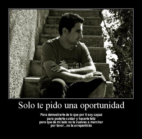 by lisansd3ll6dn Te Pido una Oportunidad