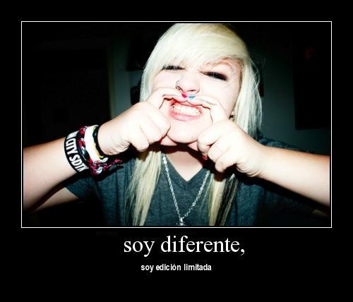 Soy Diferente (Imagenes para Facebook)