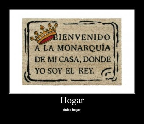 felpudomonarquia560x373 Hogar Dulce Hogar