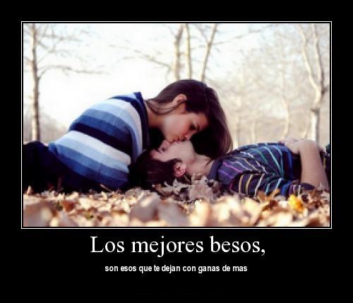 """thdkjl Imágenes Románticas de """"Los mejores besos"""""""