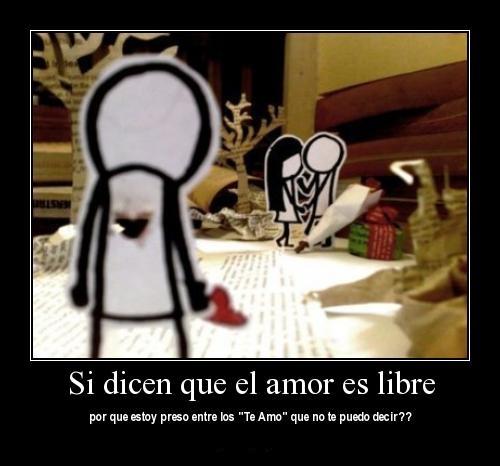 tumblr lztvplT7F61r6m34xo1 400 large Dicen que el Amor es Libre…