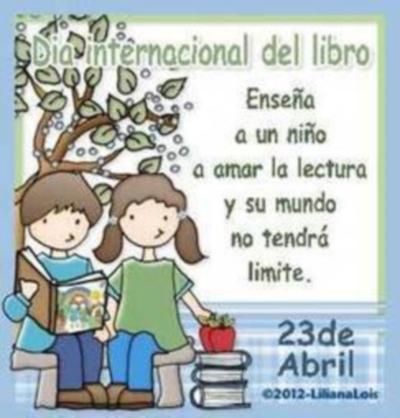 23 de Abril Día Internacional del Libro (Imagenes para Facebook)