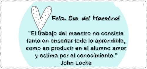 15 de Mayo Día de los Maestros | Imagenes para Facebook [FB]