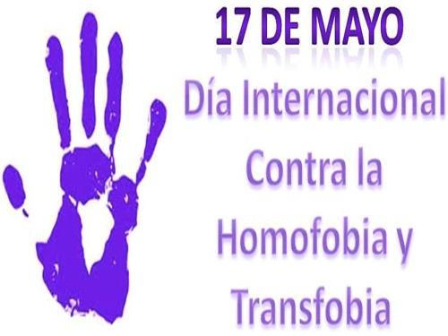 Logo 17 de Mayo Día Internacional contra la Homofobia y Transfobia