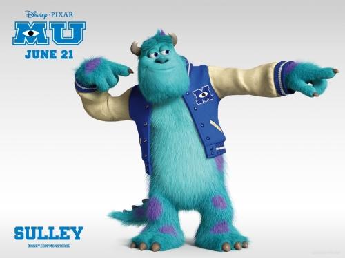 Monsters University Sulley HD Wallpaper Imágenes Bonitas de Monster University