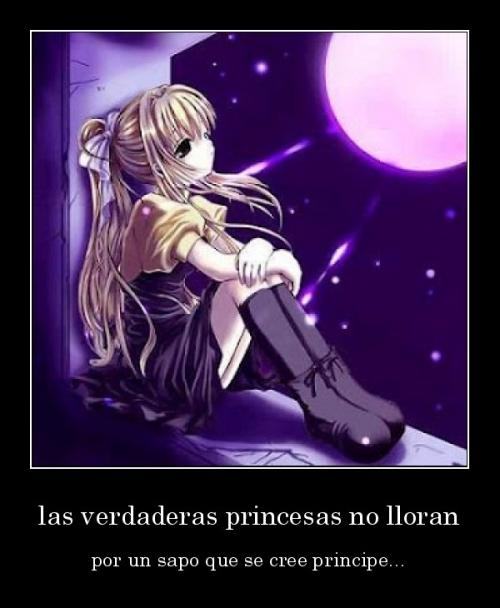desmotivaciones.mx las verdaderas princesas no lloran por un sapo que se cree principe 133627105789 Las Princesas no lloran