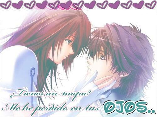 tarjetas de amor 07 Tarjetas Anime de Amor