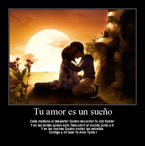 anime girl boy love  1051ghj Tu Amor es un Sueño
