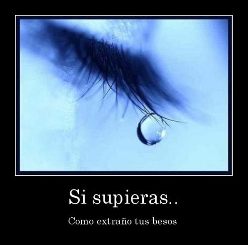 desmotivaciones.mx Si supieras.. Como extrao tus besos  133185171510 Extraño tus Besos