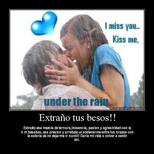 kiss 25 Extraño tus Besos