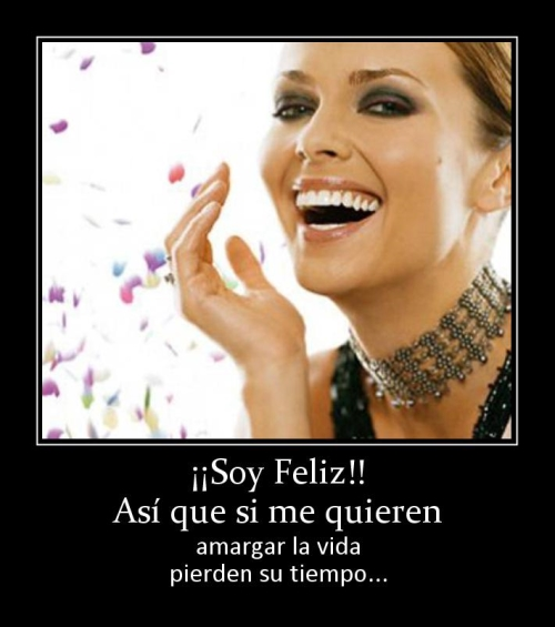 Yo Soy Feliz (Imagenes para Facebook)