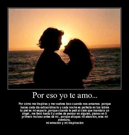 Por eso yo te Amo (Imagenes para Facebook)