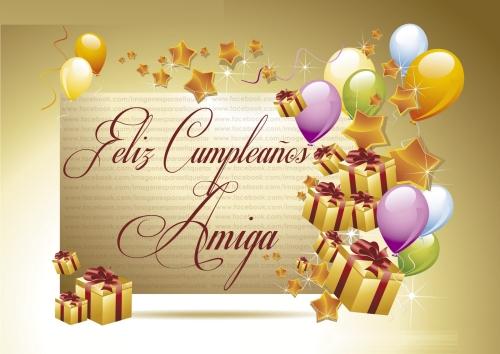 FELIZ CUMPLEAÑOS AMIGA IMAGENES PARA ETIQUETAR EN FACEBOOK Imágenes Lindas para desear Feliz Cumpleaños Amiga