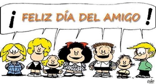 MAFALDA FELIZ DIA DEL AMIGO2 Feliz Día del Amigo