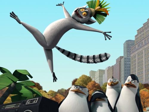Wallpaper de Serie Pinguinos de Madagascar Imágenes Tiernas de Los Pingüinos de Madagascar