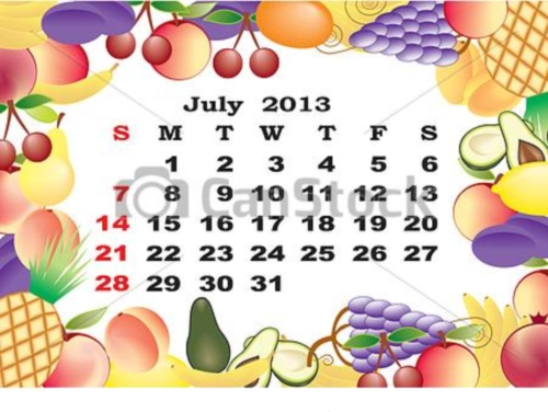 can stock photo csp10253352 Calendarios del mes de Julio 2013