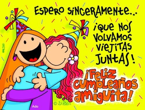 Imágenes Lindas para desear Feliz Cumpleaños Amiga (Imagenes para Facebook)