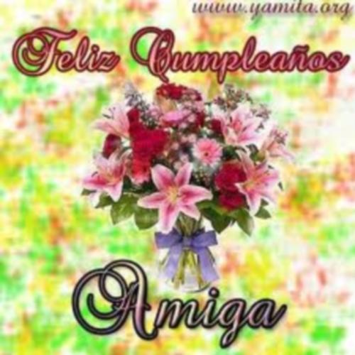images1 Imágenes Lindas para desear Feliz Cumpleaños Amiga