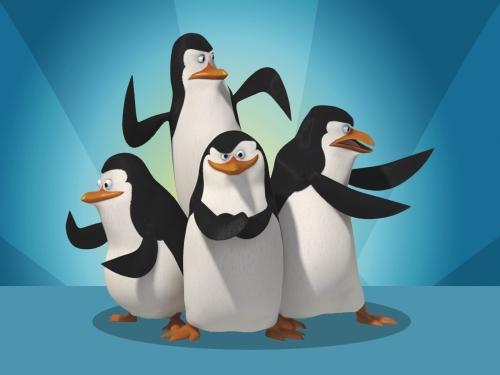 pinguinos Imágenes Tiernas de Los Pingüinos de Madagascar