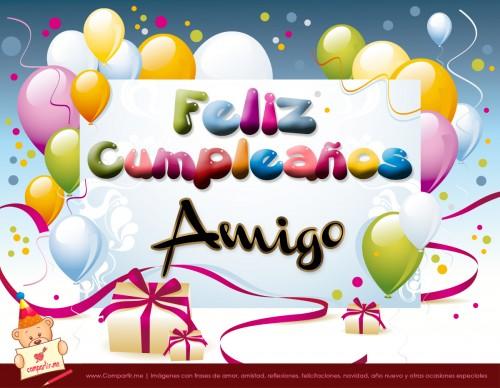 Imágenes bonitas para desear Feliz Cumpleaños Amigo | Imagenes ...
