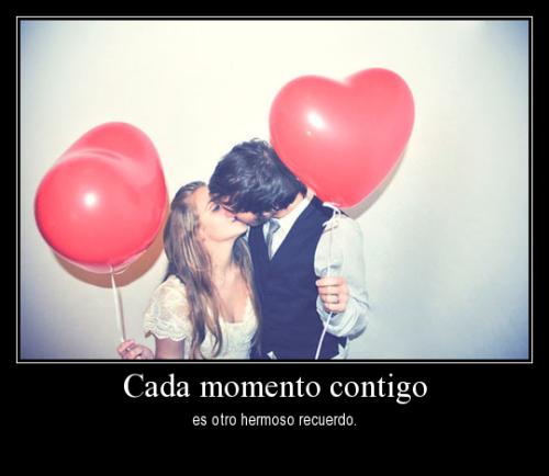 cada momento contigo es otro hermoso recuerdo desmotivaciones de amor Cada momento contigo es…