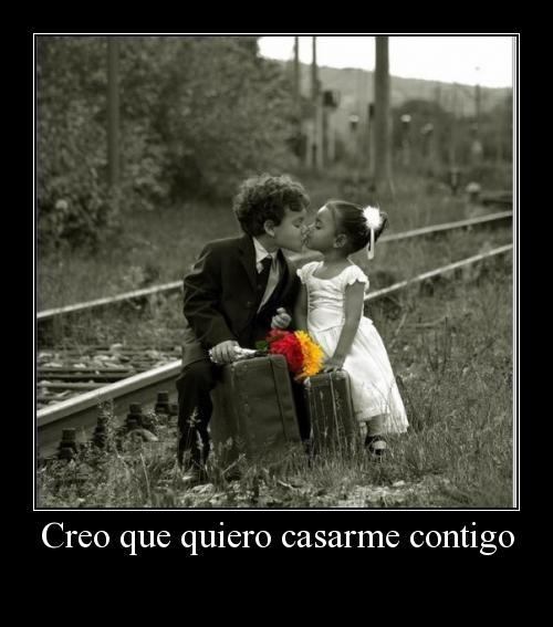 quiero casarme contigo