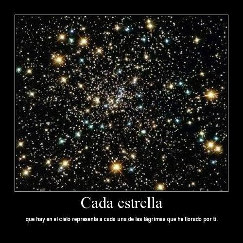 cada estrella es