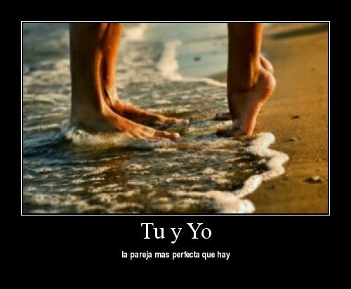 fr 2 Tú y yo la pareja perfecta