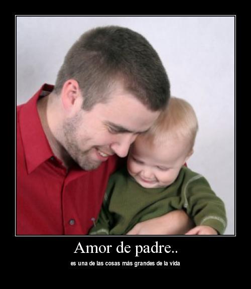 padreehijoabrazados El Amor de Padre