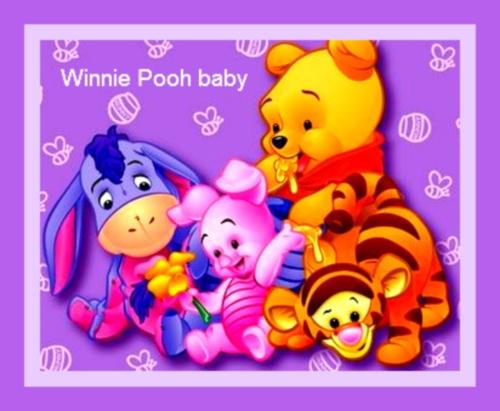 Imágenes Bonitas de Winnie Pooh Bebe (Imagenes para Facebook)