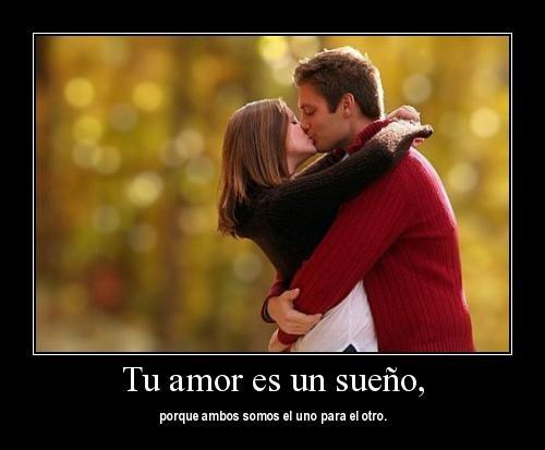 tu amor es un sueño 1 Tu amor es el sueño