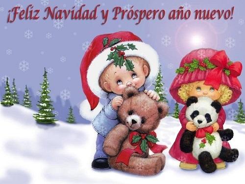 1017 Feliz Navidad y Prospero Año Nuevo