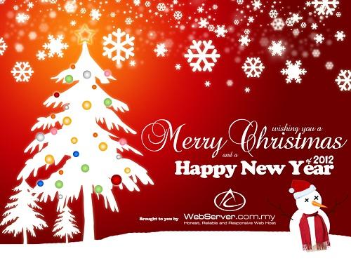 4017 Feliz Navidad y Prospero Año Nuevo