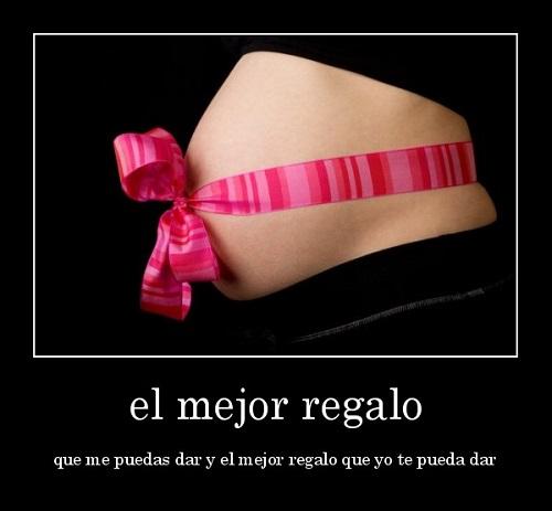 Imágenes de mujeres embarazadas con mensajes tiernos - Imagui