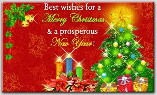 5018 Feliz Navidad y Prospero Año Nuevo
