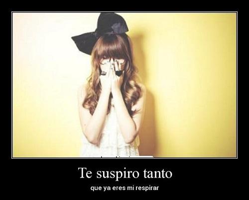 Te Suspiro (Imagenes para Facebook)