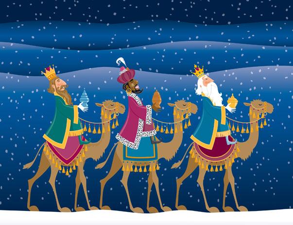 reyesmagos 1 Imágenes tiernas de los Reyes Magos