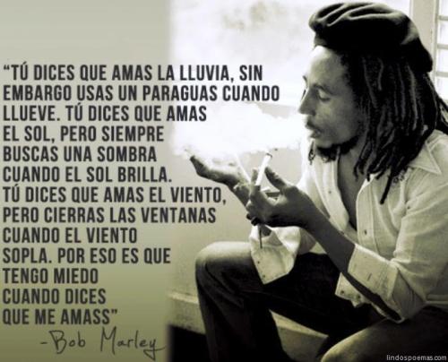 bob marley Imágenes con frases de Bob Marley