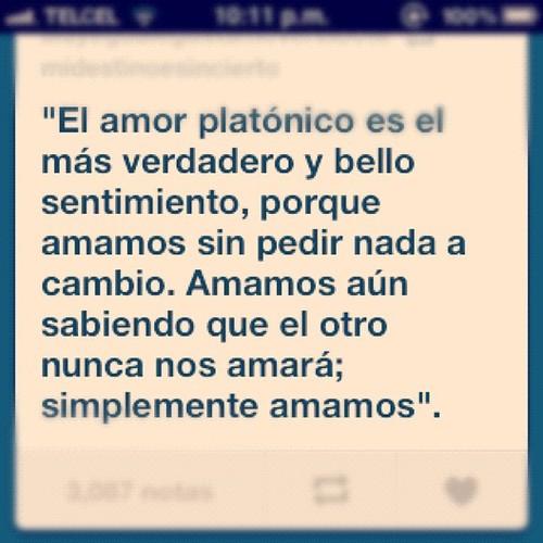 amor platonico 3 Amor platónico