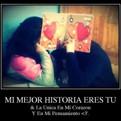 Mi mejor historia en mi corazón 500x500 Tú y yo una historia de amor
