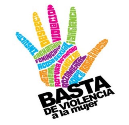 basta de violencia No a la violencia contra la mujer