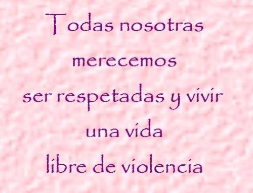 dia de la eliminación de la violencia a la mujer 2012 No a la violencia contra la mujer