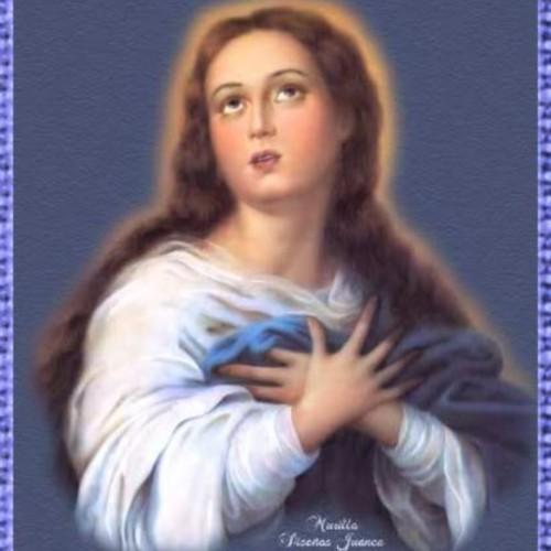 Inmaculada con1borde 500x500 Imágenes de la Purísima
