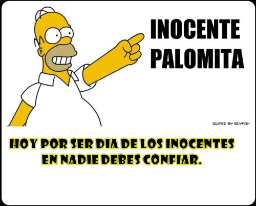 Inocentes Dia de los inocentes