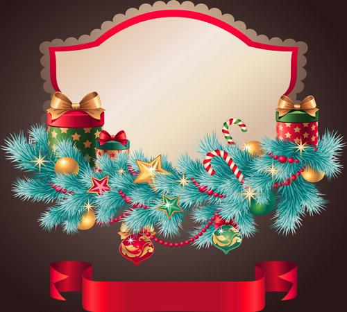 Marco para tarjetas Feliz Navidad Postales para navidad