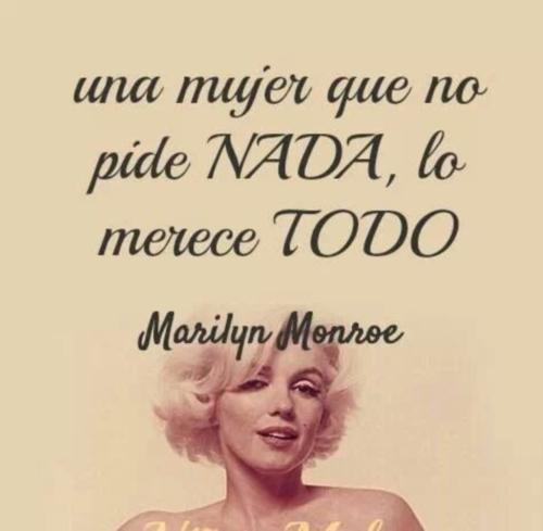 77b345e8e2b1b4747cbaa3c8f5a86ab8 Imágenes con frases de Marilyn Monroe