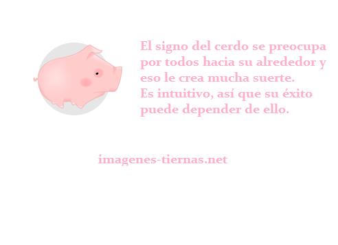 horoscopo chino cerdo