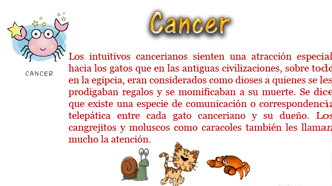 cancer y escorpion: